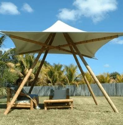 aménagement bambou extérieur