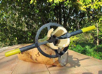 Photo d'un fendeur à bambou.