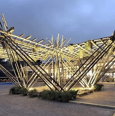 Décoration Bambou Extérieur