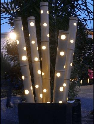 Luminaire bambou source d'inspiration