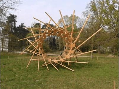 Structure en bambou, source d'inspiration.