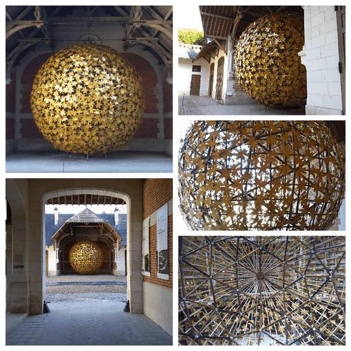 Sphere geodesique
