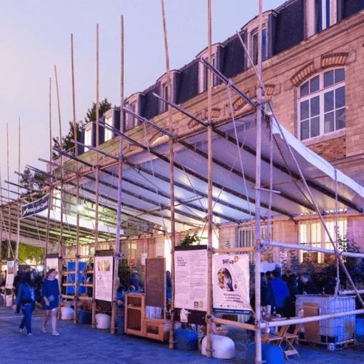 Structure en bambou